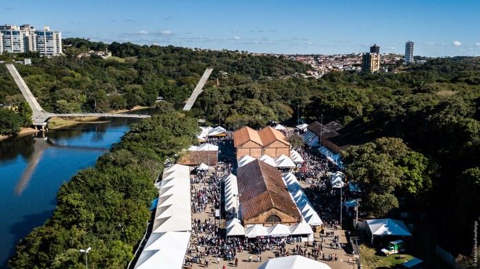 Vista aérea do Engenho Central na 36ª Festa das Nações – FotoPerigo