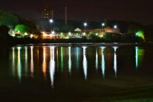 Engenho Central, numa vista noturna