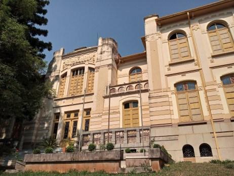 Fachada da EE Sud Mennucci, do prédio que foi construído em 1917. (foto: comunicação Prefeitura)