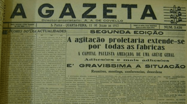 Greve-1917_Gazeta_reprod-Google_BBC-Brasil
