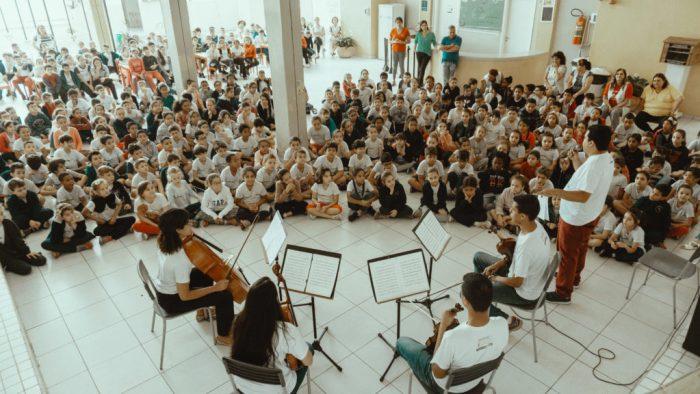 Projeto Jovens Músicos nas escolas