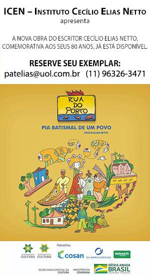 Pia Batismal de um Povo - livro de Cecílio Elias Netto - Piracicaba
