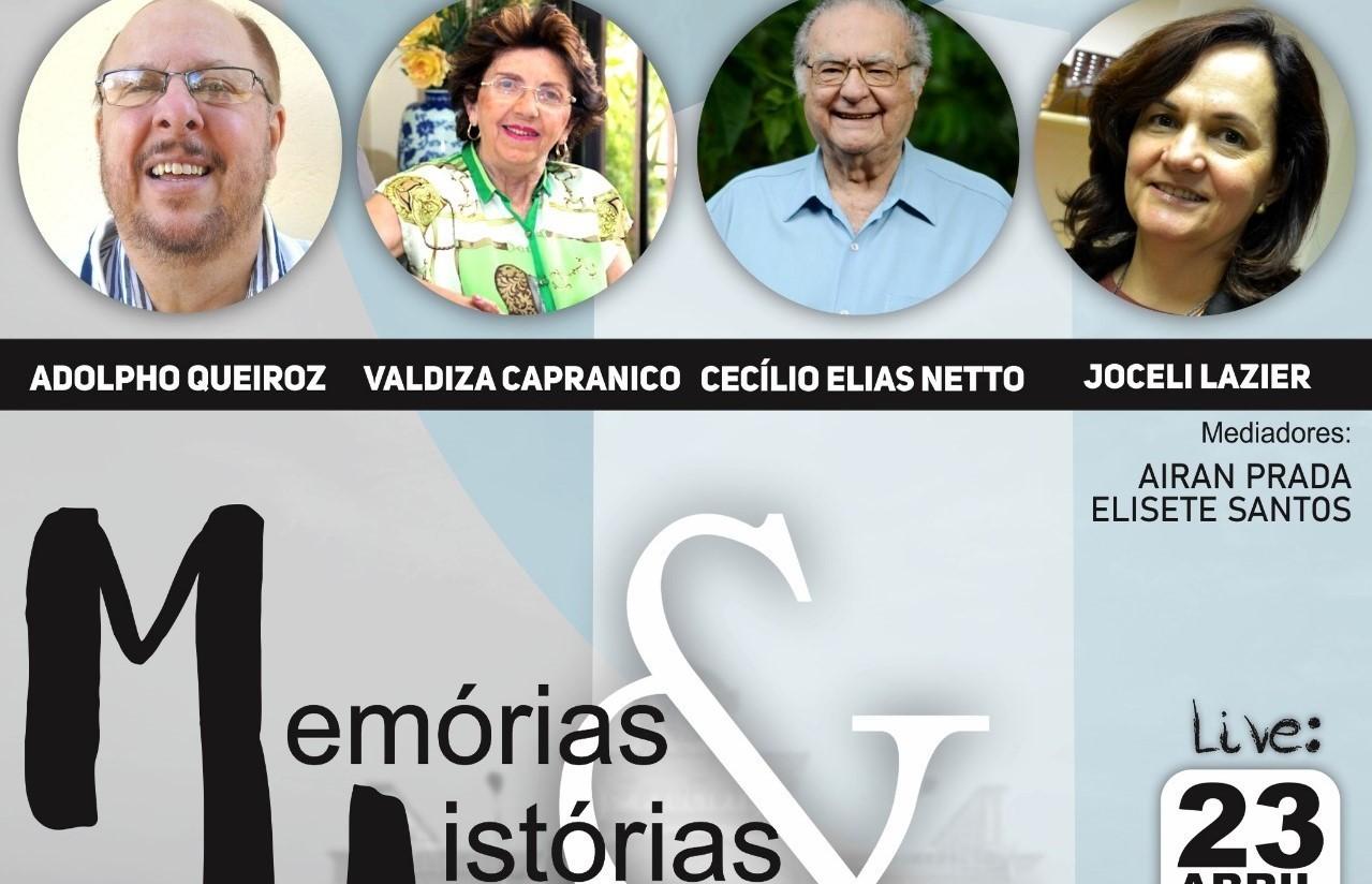 """Live """"Diálogos Culturais"""" debate a importância da preservação histórica"""