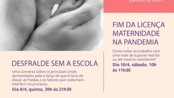 Sesc Piracicaba realiza encontros virtuais sobre maternidade na pandemia