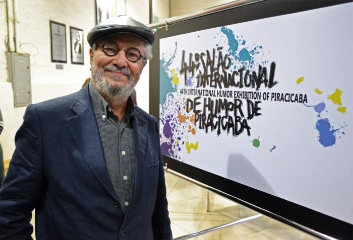 Zélio Alves Pinto é um dos fundadores do Salão FOTO RAFAEL BITENCOURT