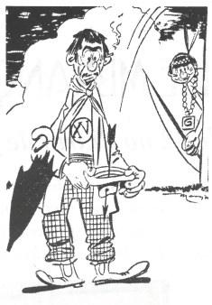"""Em 29 de maio de 1949, Nino Borges, desenhista de """"A Gazeta Esportiva"""", cria o personagem """"Nhô Quim"""". (imagem: Memorial de Piracicaba, de Cecílio Elias Netto - fasc. 3, ago/2002)"""