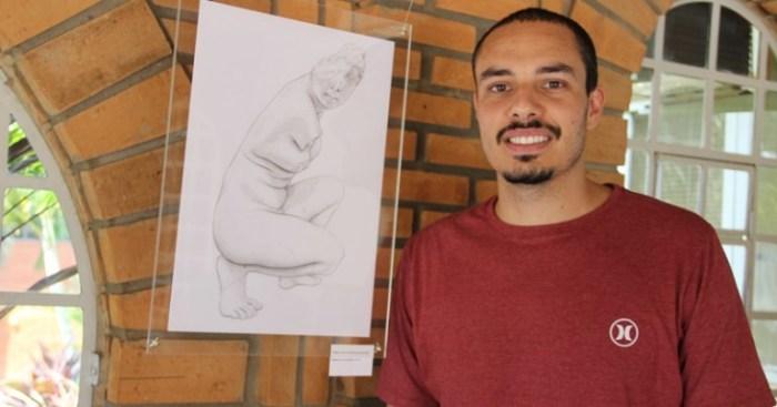Victor Harabura ministrará oficina de Desenho Básico – foto Giane Quintela