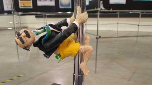 Salão de Humor - Votação do Júri Popular define Prêmio Escultura 2021