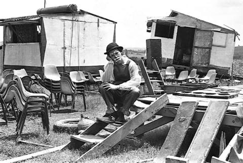 Bastidores do Circo do Veneno. (foto: arquivo Família Veneno)