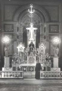 O altar da Matriz