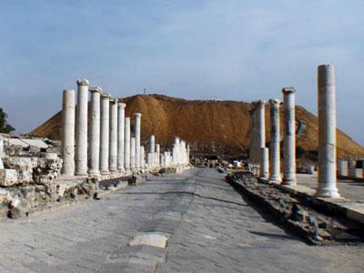 ISRAEL - Ruinas de Beit Shean