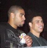 Adriano e Ronaldo