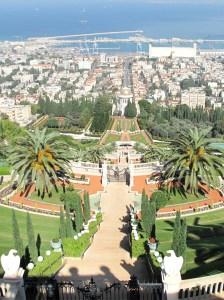 Israel-Haifa-Jardim de Bahai