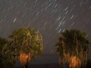 Chuva de cometas Perseidas em 12 de agosto de 2008, em Nevada, EUA