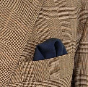 Lenço no bolso