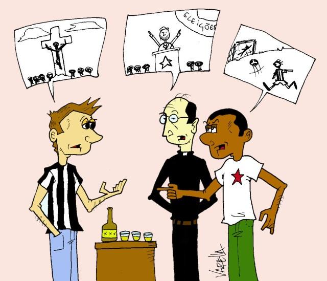 Futebol, política e religião