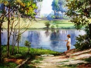 Denise Storer - Na beira do lago