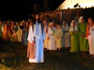 Cena do espetáculo Paixão de Cristo de Piracicaba (SP) - Foto Marcelo Basso-Engenho da Notícia