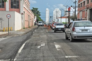 Corredor - obras avenida Dona Francisca - Justino Lucente