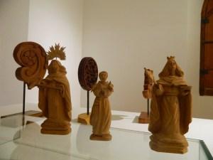 Obras que compõem a exposição Entalhe e Arte - Foto Divulgação Museu