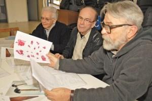 Jurados Ermelindo Nardin, Enock Nascimento e Tadeu Chiarelli - Credito Justino Lucente