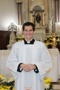 Mateus Kerches Nicolucci na Sé Catedral Santo Antônio. foto Rosiley Lourenço
