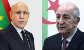 الرئيس تبون يتلقى مكالمة هاتفية من نظيره الموريتاني