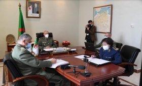 الأمين العام لوزارة الدفاع الوطني يشارك في أشغال الاجتماع (16) لوزراء دفاع الدول الأعضاء لمبادرة