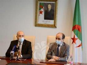 سمير شعابنة يتسلم مهامه الجديدة كوزير منتدب لدى الوزير الأول مكلف بالجالية الوطنية بالخارج
