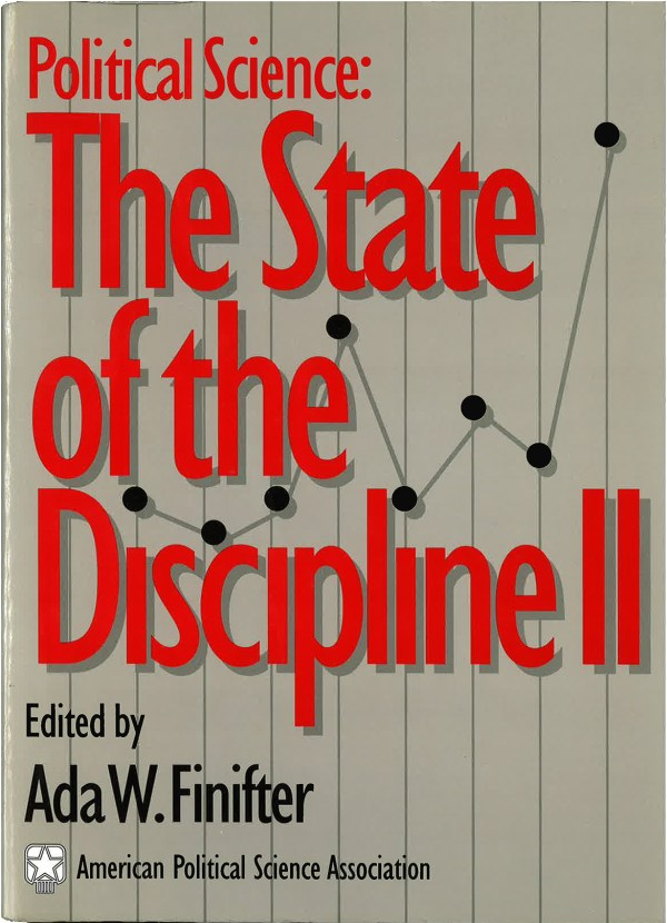 Political Science State Of Discipline Ii