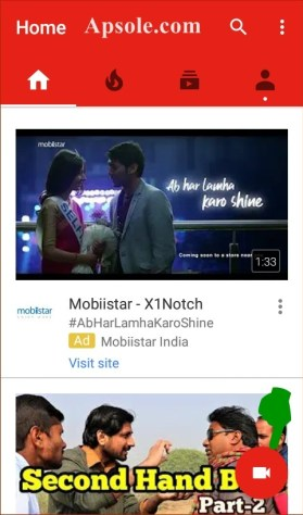 How to upload video on youtube from mobile phone