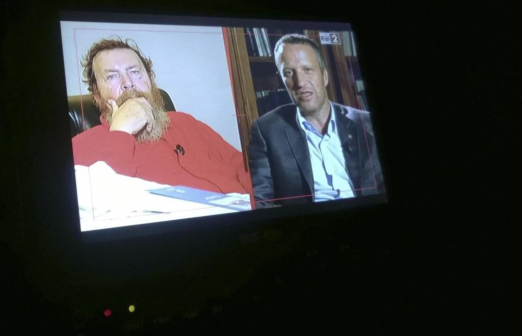 produzioni video a verona - diretta televisiva RAI 2