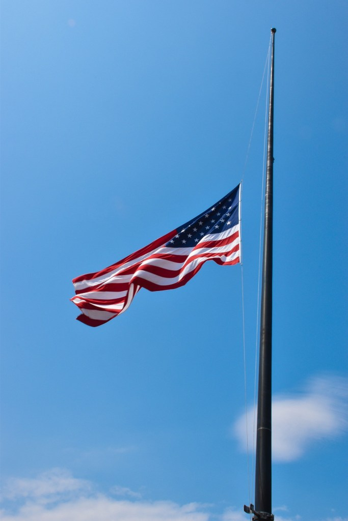 Flag at half-staff to honor veterans