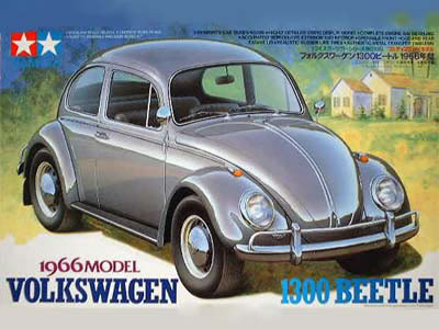 Tamiya 1966 Volkswagen 1300 Beetle Model Kit