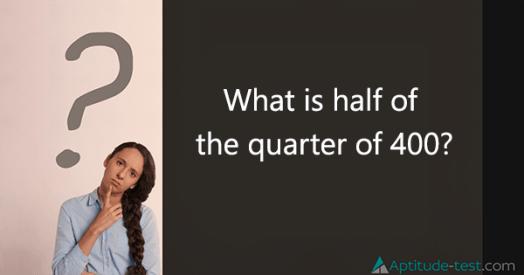Mathematical Test Question
