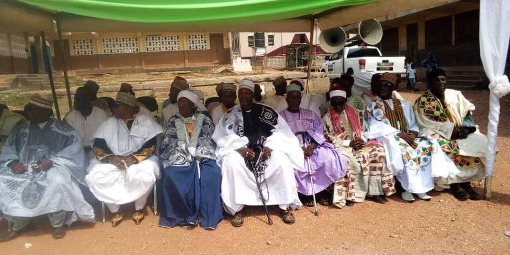 Muslim chiefs at Mawlid