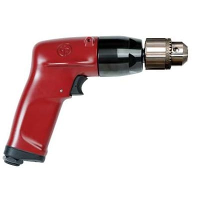 Chicago Pneumatic CP Industrial Pistol Drill 3/8 Inch Chuck