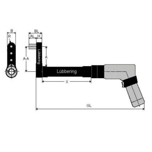 Lubbering Aster installation tool for ASTER®-A5L™ - 6