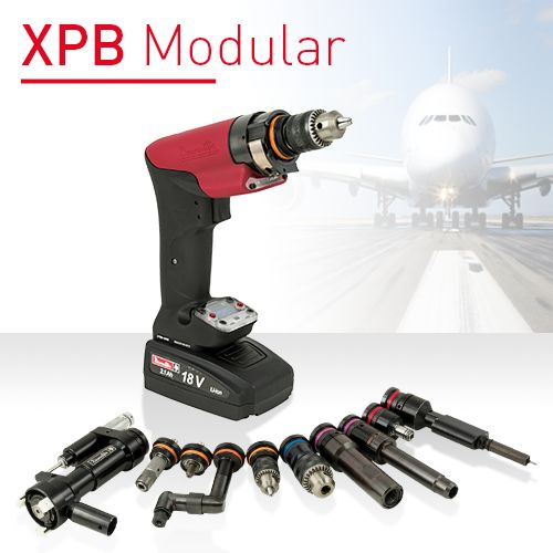 Desoutter XPB Cordless Modular Multi Tool - Drill