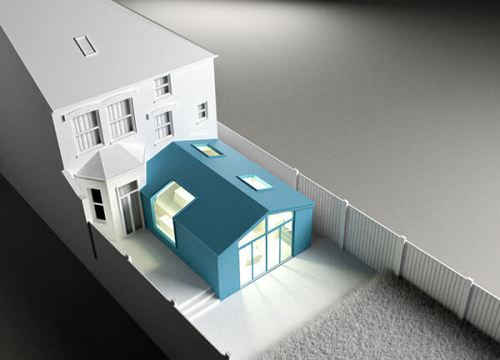 house and kitchen extension 3d modelling services