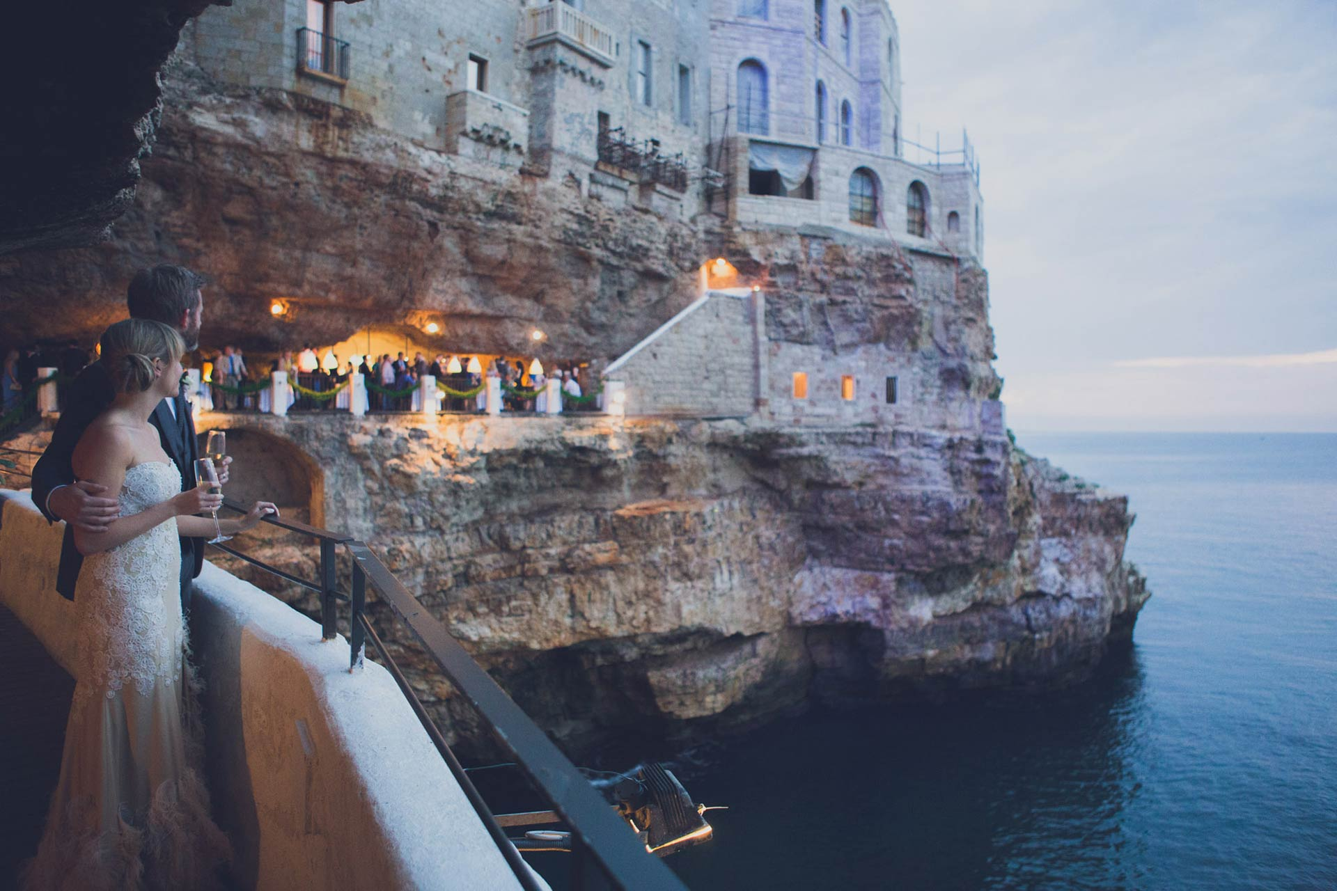 Grotta Palazzese wedding celebrant