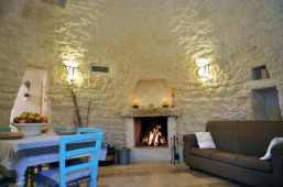 Wohnbereich Trullo Apulien