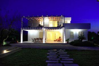 Villa Bianca by Night