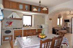 Küche Apulien Ferienhaus