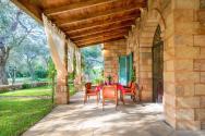 Terrasse Apulien Villa