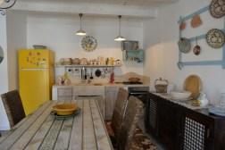 Küche Fewo mit Pool