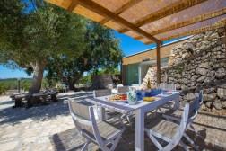 Terrasse Apulien