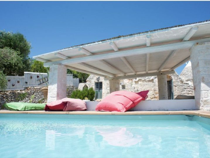 Trullo mit Pool