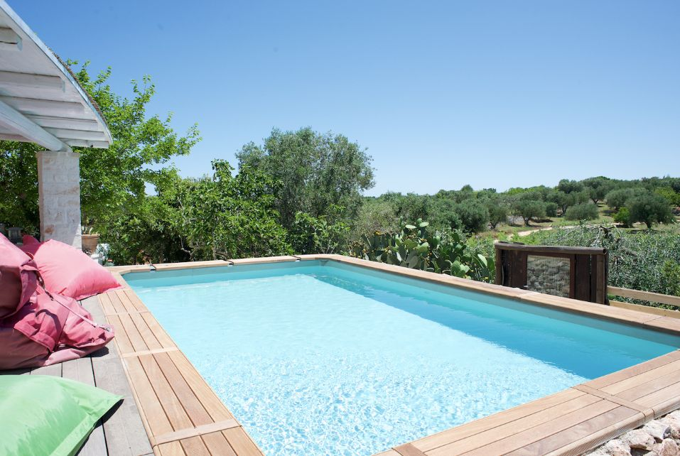 Pool Trullo Apulien