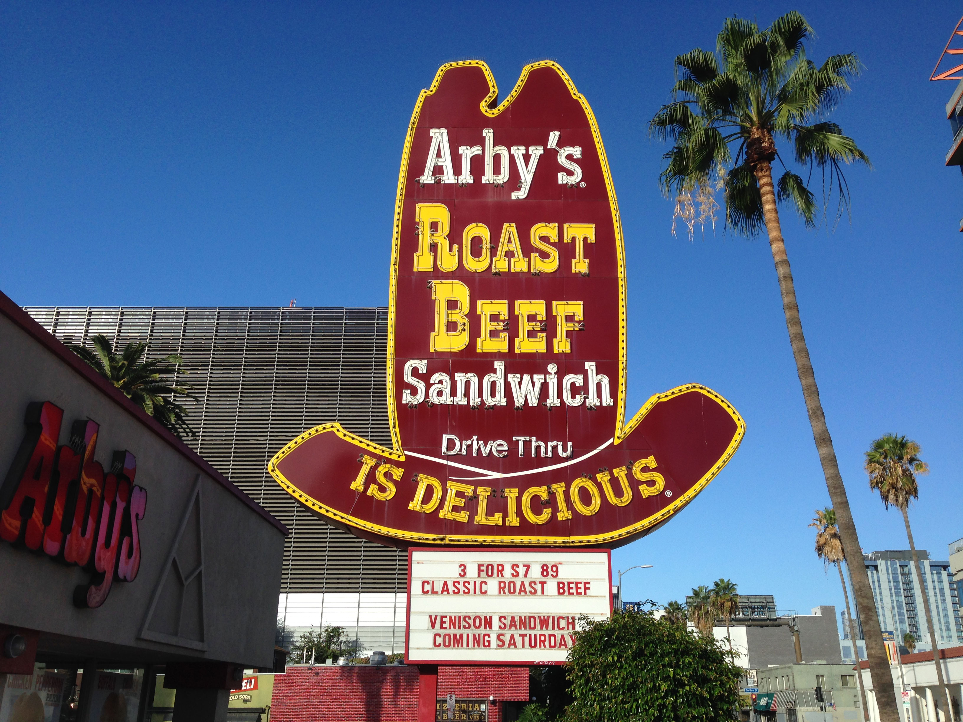 Arby's in Hollywood, Calif.